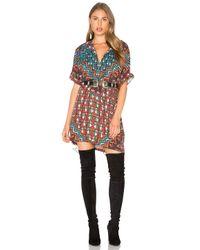 Mara Hoffman | Multicolor Bolnisi Rug Tunic Dress | Lyst