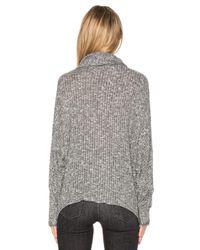 Michael Lauren Gray Jarret Turtleneck Sweater