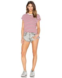 One Teaspoon - Multicolor Bandits Short - Lyst