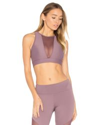 Onzie | Purple Briana Sports Bra | Lyst