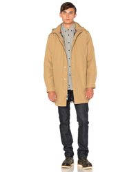 Penfield | Blue Ashford Insulated Rain Jacket for Men | Lyst