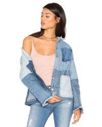 PRPS | Blue Patch Denim Jacket | Lyst