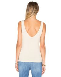 Project Social T - Black Kate Double V Tank - Lyst