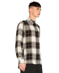 Public School Black Trin Shirt With Back Panel for men