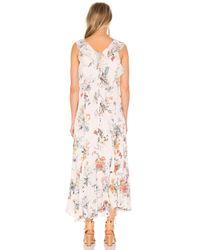 Rebecca Taylor - Pink Meadow Ruffle Maxi Dress - Lyst