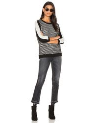 Shae - Black Crew Neck Sweater - Lyst