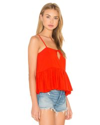Sincerely Jules Red Terra Cotton Tank Top