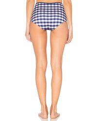 Solid & Striped Blue The Brigitte Bikini Bottom