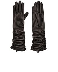SOIA & KYO | Black Joline Gloves | Lyst