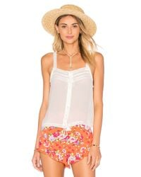 Spell & The Gypsy Collective - White Prairie Lace Top - Lyst