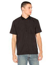 Stussy - Black Vacation Shirt for Men - Lyst