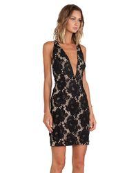 StyleStalker Black Scarlet Dress