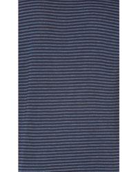 Stateside - Blue Stripe Twist Tee - Lyst