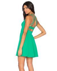 Susana Monaco - Green Piper Dress - Lyst