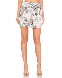 Twelfth Street Cynthia Vincent | Pink Shirt Pleated Skirt | Lyst