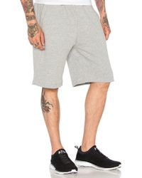 Undefeated - Gray Estorial 5 Strike Sweatshort for Men - Lyst