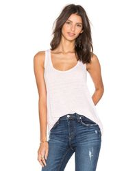 Velvet By Graham & Spencer | White Cotton Top | Lyst