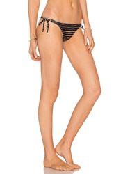 ViX - Black Lanai Long Tie Bikini Bottom - Lyst