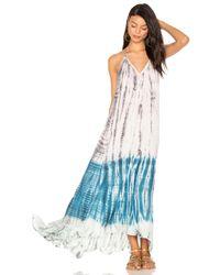 Young Fabulous & Broke Blue Shanice Dress