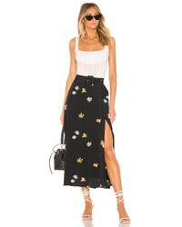 Capulet Blue Devin Belted Skirt