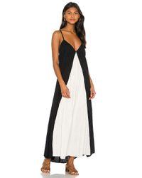 Mara Hoffman Black Miro Dress