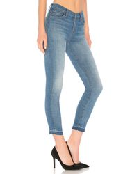 7 For All Mankind Blue The Ankle Skinny