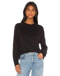 Lovers + Friends Black Rhett Sweater