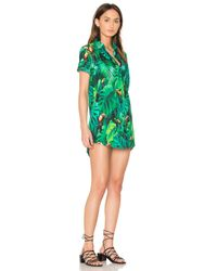 Onia Green Jesse Woven Cover Up