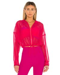 Lanston Pink Zip Up