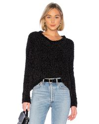 Bella Dahl Black Slouchy Sweater