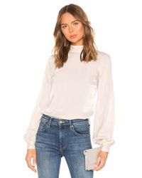 House of Harlow 1960 White X REVOLVE Faya Blouse