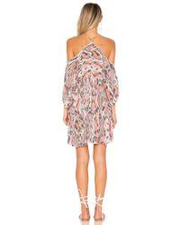 Free People - Pink Monarch Mini Dress - Lyst