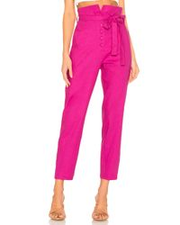 Lovers + Friends Pink Calvin Pant