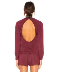 Body Language Red Seymour Pullover