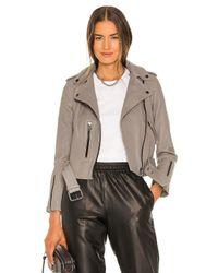 AllSaints Barlfern ライダースジャケット Gray