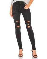 AG Jeans Black Farrah Skinny In 3 Years Requiem