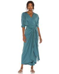 Callahan Blue Sami Maxi Dress