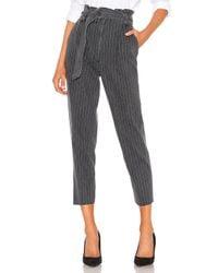 GRLFRND Gray Lana Paperbag Skinny Jean. Size 30.
