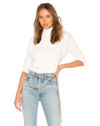 Lovers + Friends White Gwen Sweater