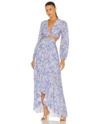 Jonathan Simkhai Jaelynn ドレス Blue