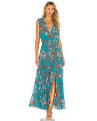 MISA Los Angles Hollen ドレス Blue