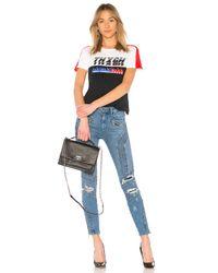Tommy Hilfiger Black Tommy X Gigi Gigi Hadid Speed Ss T Shirt