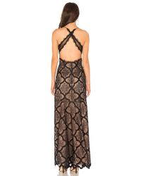 X By NBD Black X Revolve Reese Gown