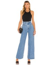 Levi's Blue Tailored High Loose