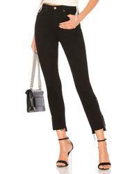 GRLFRND Black Kendall High-rise Zipper
