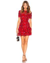 Tanya Taylor Red Carti Dress