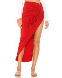 Облегающая Макси Юбка Candice В Цвете Вишневый superdown, цвет: Red
