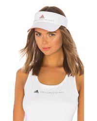 Adidas By Stella McCartney White Tennis Visor