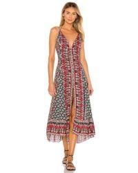 Free People Black On The Bright Side Maxi