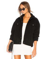 superdown Black Margot Oversized Jacket